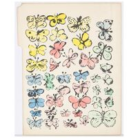 Andy Warhol, 'Happy Butterfly Days', 1956