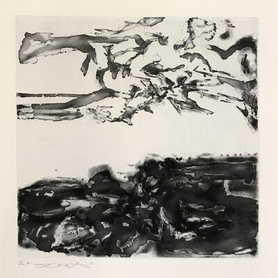 Zao Wou-Ki 趙無極, 'Éloge des choses extrêmement légères (365)', 1993