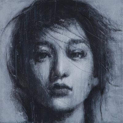 Vitaliano, 'Studio di donna XI', 2014