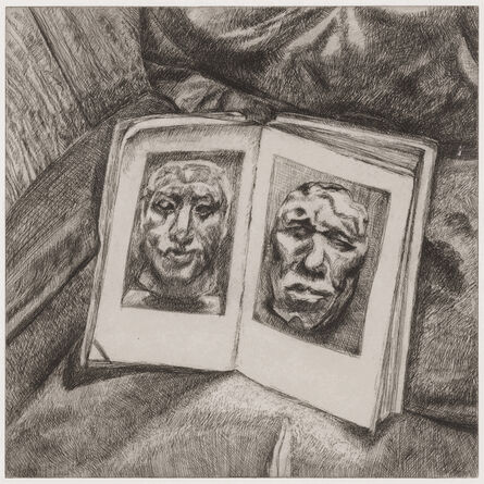 Lucian Freud, 'The Egyptian Book', 1994