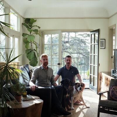 Tanja Hollander, 'Colin Dusenbury + Thaddeus Herrick, Los Angeles, California', 2015