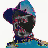 Andy Warhol, 'Teddy Roosevelt, from Cowboys and Indians (Feldman & Schellmann II.386)', 1986