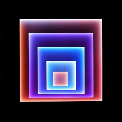 Craig Dorety, 'Offset Squares -- Zoanthids', 2016