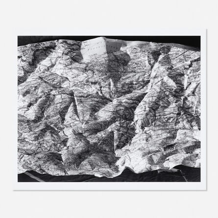 Abelardo Morell, 'Map #1, 1996', 1996