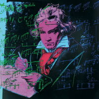 Andy Warhol, 'Beethoven Pink book-sm', 2000