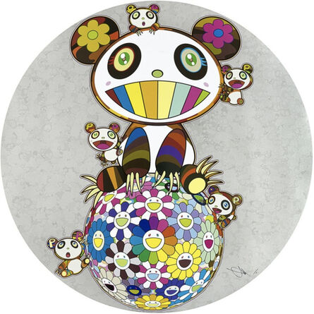 Takashi Murakami, 'Panda and Panda Cubs', 2019