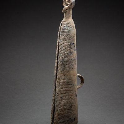 Near Eastern, 'Bronze Age period terracotta ritual vessel', 2500 BCE-1500 BCE