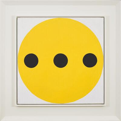 Alexander Liberman, 'Black-Yellow', 1962