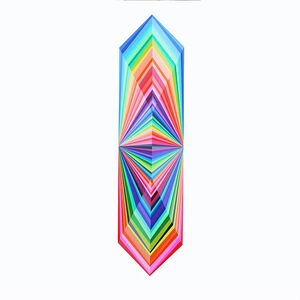 Kristofir Dean, 'Spectrum Crystal Refraction', 2017