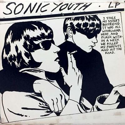 Raymond Pettibon, 'Rare Original Raymond Pettibon record art, Sonic Youth Goo', 1990