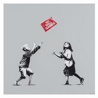 Banksy, 'No Ball Games (Grey)', 2009