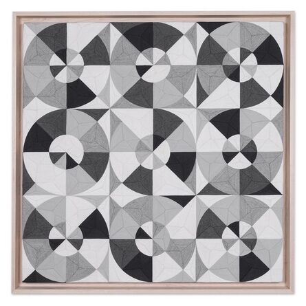 """Eduardo Terrazas, '1.2.42, from the series """"Possibilities of a Structure"""", subseries """"Nine Circles""""', 2016"""