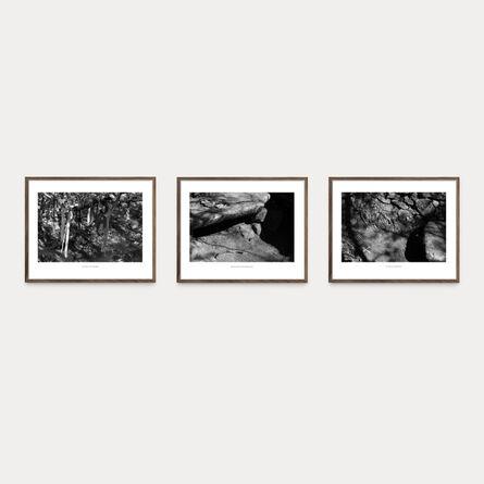 Jamie Mills, 'Essence of a Word I, II, III (Triptych)', 2020