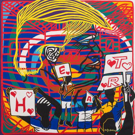 Boris Nzebo, 'The Heart of Man', 2016