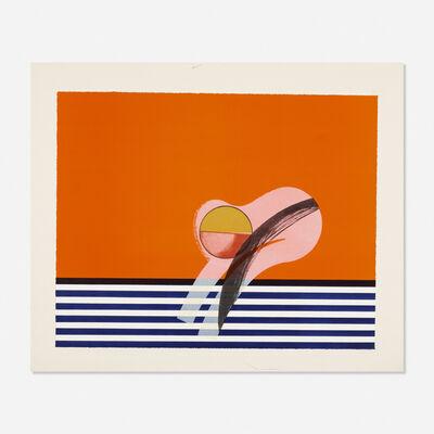 Howard Hodgkin, 'Girl on Sofa', 1968