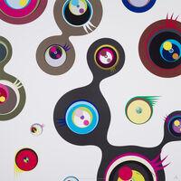 Takashi Murakami, 'Jellyfish eyes - white 2', 2006