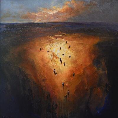 Mel Brigg, 'Through the Centre', 2021