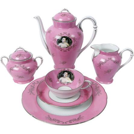 Cindy Sherman, 'Madame de Pompadour (née Poisson) Tea Service', 1990