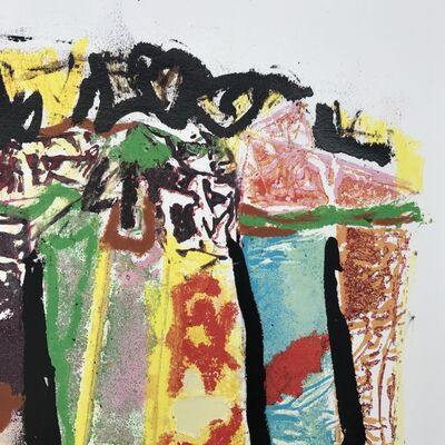 John Chamberlain, 'Lineup #18', 1998