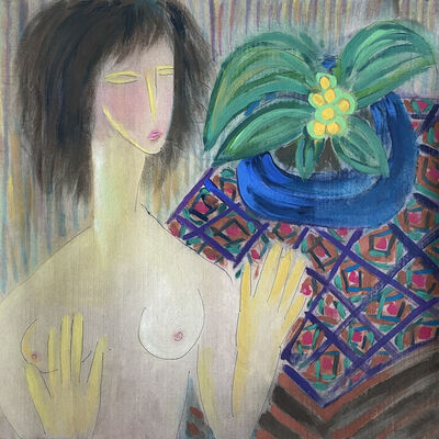 Lucy Y F Chen, 'Nude Decor No. 6', 1993