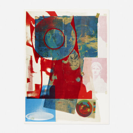 Robert Rauschenberg, 'Quarry Local One', 1968