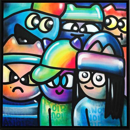CHANOIR (Alberto Vejarano), 'Cool Colors Cats', 2021