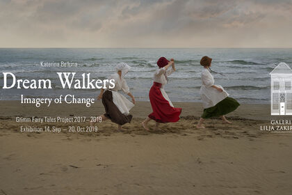 Solo exhibition DreamWalkers. Imagery of Change by Katerina Belkina  at Galerie Lilja Zakirova and Target Point International in Heusden