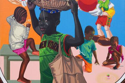 Tagne William Njepe: Enfance volée
