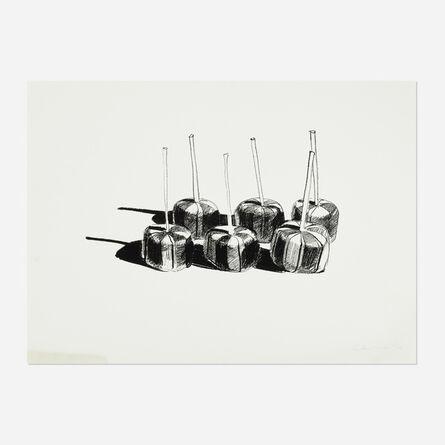 Wayne Thiebaud, 'Suckers State I', 1968