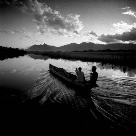 Chris Simpson, 'Two Men in a Canoe, Madagascar', 1997