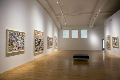 Lines/Edges: Frank Stella On Paper