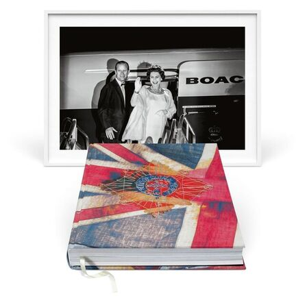Harry Benson, 'Her Majesty. Vivienne Westwood Edition with Black and White Fine Art Print 'Royal Departure'', 1966