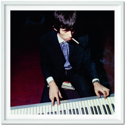 Bent Rej, 'The Rolling Stones. Art Ed. Rej, Keith playing the piano, 1965', 1965