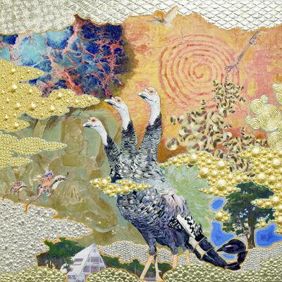 Masatake Kozaki, 'The Vermilion murals, Futaba', 2016