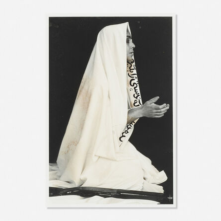 Shirin Neshat, 'Way in Way Out (from the Women of Allah series)', 1994