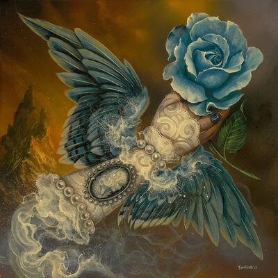 Greg 'Craola' Simkins, 'Blue Fairy ', 2017