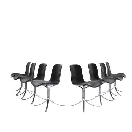 Poul Kjærholm, 'Set of eight PK 9 chairs', 1960