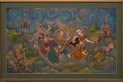 Aspara and Legends of Cambodia