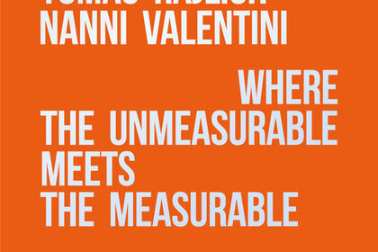 Where the unmeasurable meets the measurable. Alan BEE, Paolo IACCHETTI, Tomas RAJLICH, Nanni VALENTINI