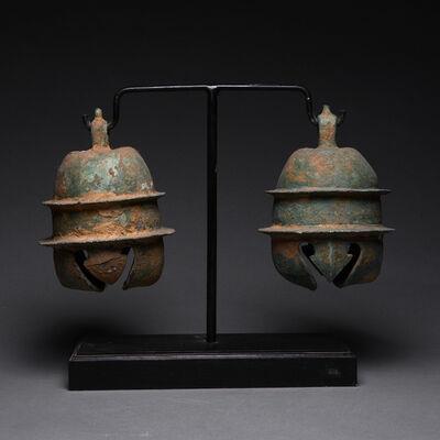 Khmer 14th Century, 'Khmer Bronze Elephant Bells', ca. 12th-13th Century AD