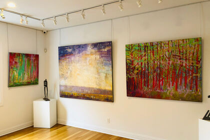 "Exhibit Ira Barkoff - ""Reflections of Spirit"""