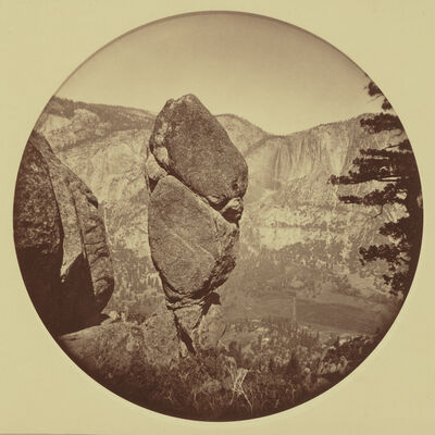 Carleton E. Watkins, 'Agassiz Column, Yosemite', 1878
