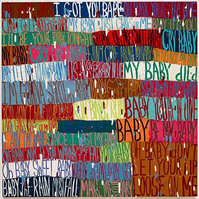 Squeak Carnwath, 'Little Baby', 2016