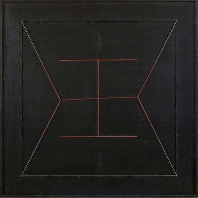Gianni Colombo, 'Spazio elastico, doppia I rossa (Elastic Space, Double Red I)', 1979
