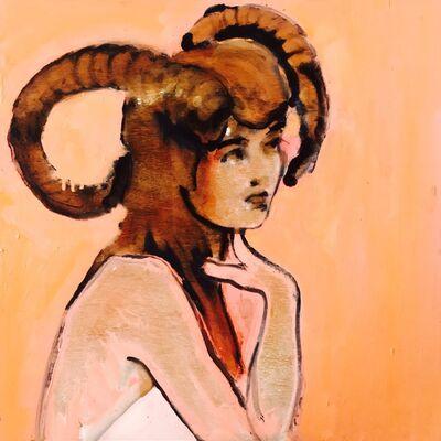 Ilona Szalay, 'Ram Girl', 2017