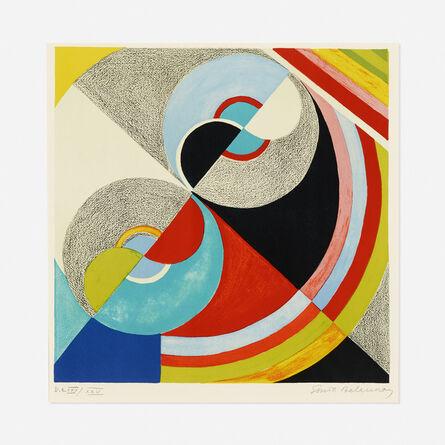 Sonia Delaunay, 'Rhythm Colour no. 1076', 1939