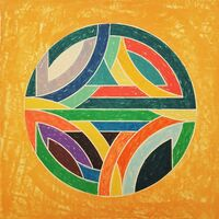 Frank Stella, 'Sinjerli Variation Squared with Colored Ground IV', 1981