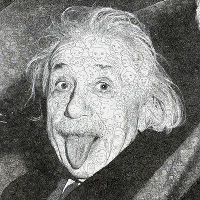 Keita Sagaki, 'Hystorical Portraits vol. 6 - Albert Einstein', 2020