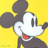 Andy Warhol, 'Mickey Mouse', 1986
