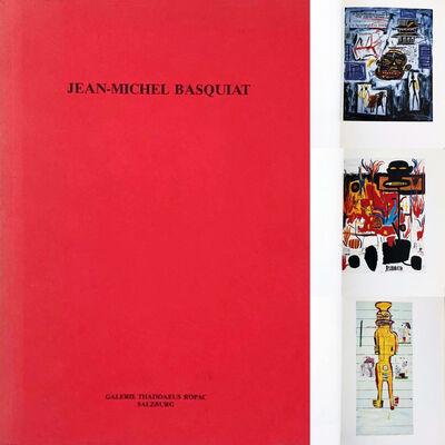 Jean-Michel Basquiat, 'Basquiat Thaddaeus Ropac catalog 1986 (Jean-Michel Basquiat: Bilder 1984–1986)', 1986